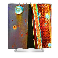 Homeless Shower Curtain