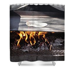 Shower Curtain featuring the photograph Homemade Tortillas by Kerri Mortenson