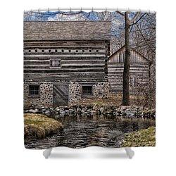 Homestead 5 Shower Curtain by Jack Zulli