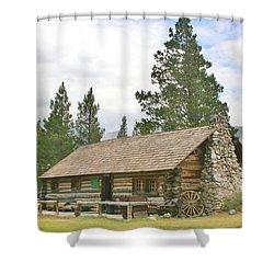 Homesteaded Shower Curtain by Marilyn Diaz