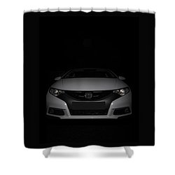 Honda Civic Shower Curtain