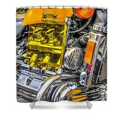 Honda Valkyrie 1 Shower Curtain by Steve Purnell