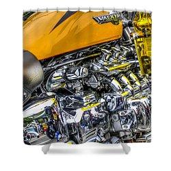 Honda Valkyrie 3 Shower Curtain by Steve Purnell