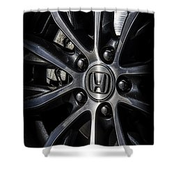 Honda Wheel Shower Curtain