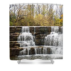 Honeoye Falls 2 Shower Curtain