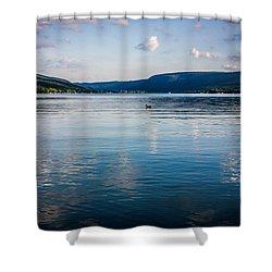 Honeoye Lake Shower Curtain