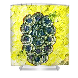 Honeybee 1 Shower Curtain