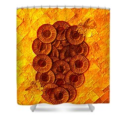 Honeybee 2 Shower Curtain