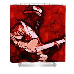 Honeyboy Shower Curtain