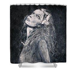 Honeysuckle Shower Curtain
