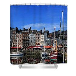 Honfleur France Shower Curtain