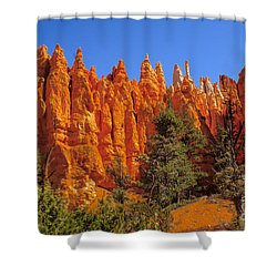 Hoodoos Along The Trail Shower Curtain