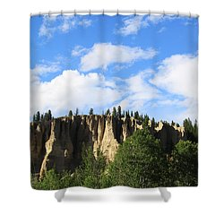 Hoodoos Shower Curtain by Alyce Taylor