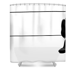 Hooked And Booked  Shower Curtain