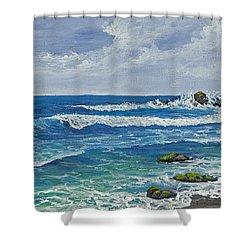 Hookipa Shower Curtain by Darice Machel McGuire
