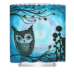 Hoolandia Contrasts 02 Shower Curtain