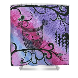 Hoolandia Contrasts 03 Shower Curtain