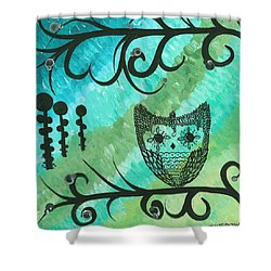 Hoolandia Contrasts 04 Shower Curtain