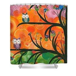Hoolandia Family Tree 01 Shower Curtain