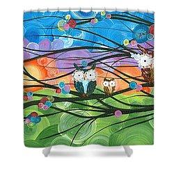 Hoolandia Family Tree 04 Shower Curtain
