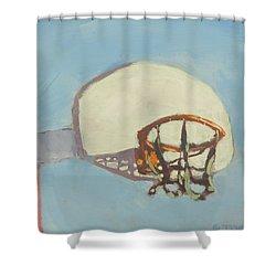 Hoop Dreams Shower Curtain