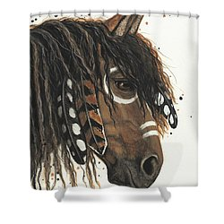 Hopa Majestic Mustang Series 47 Shower Curtain by AmyLyn Bihrle