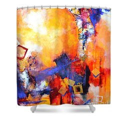Hope Shower Curtain by Betty M M   Wong