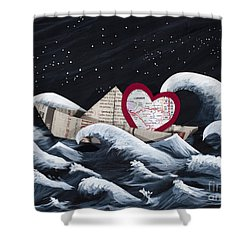 Hope Floats Shower Curtain