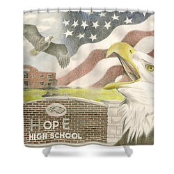 Hope High School Shower Curtain