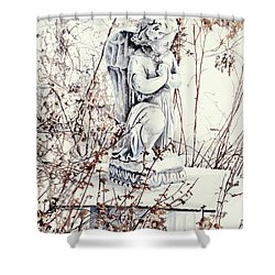 Hope In Winter Shower Curtain