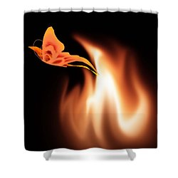 Hope Is The Flame Shower Curtain