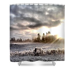 Hope - Landscape Version Shower Curtain