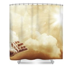 Hope Shower Curtain by Les Cunliffe