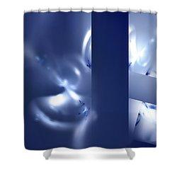 Shower Curtain featuring the digital art Hope by Menega Sabidussi