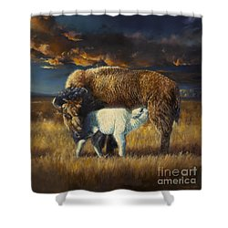 Hope Of A Nation Shower Curtain