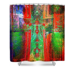 Hope Shower Curtain by Robert ONeil
