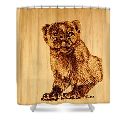 Hope's Marten Shower Curtain