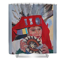 Hopi Basket Dancer Shower Curtain