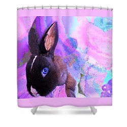 Hoppy Easter Shower Curtain