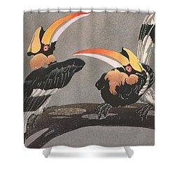 Hornbills Shower Curtain