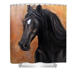 Horse - Lucky Star Shower Curtain