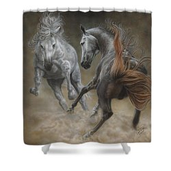 Horseplay II Shower Curtain