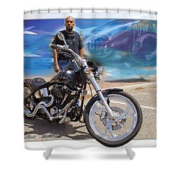 Horses Of Iron10 Shower Curtain