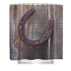 Horseshoe Shower Curtain