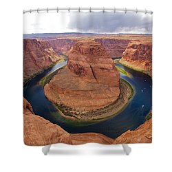 Horseshoe Bend View 1 Shower Curtain