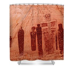 Horseshoe Canyon Pictographs Shower Curtain