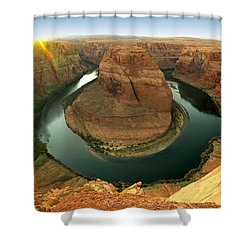 Horseshoe Shower Curtain