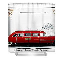 Horseshoe Fleetwood Cadillac Limousine Shower Curtain