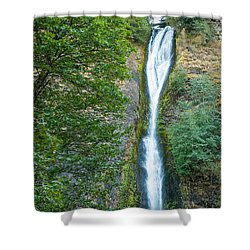 Horsetail Falls Shower Curtain by John M Bailey