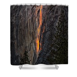 Horsetail Falls Shower Curtain